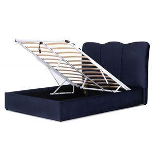 Hector Čalouněná postel Lahore 160x200 námořnická modř