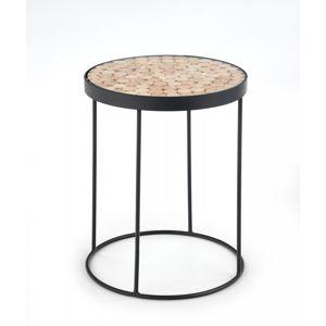 3kraft Konferenční stolek NATURO 2 černý