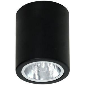 DekorStyle Stropní svítidlo Downlight round 12,5 cm černé