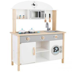 Dřevěná kuchyňka pro děti XXL EcoToys Froggo