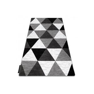 3kraft Kusový koberec ALTER Rino trojúhelníky šedý