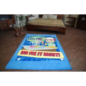 3kraft Dětský koberec HANDY MANNY modrý