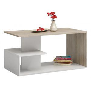 Shoptop Konferenční stolek DALLAS mix světlý dub
