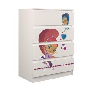 Shoptop Dětská komoda Malwa M4 Princezna