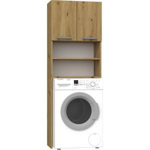Shoptop Koupelnová skříňka nad pračku Della hnědá