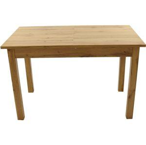Shoptop Rozkládací stůl Kevin 120 cm hnědý