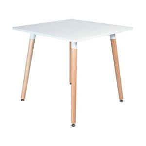 TZB Stůl Paris 80x80cm - bílý