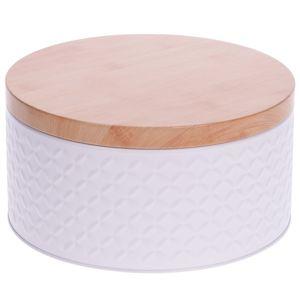DekorStyle Uzavíratelný box bílý
