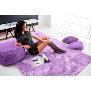 Tutumi Plyšový koberec Shock světle fialový