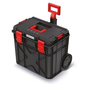 PlasticFuture Kufr na nářadí X-BLOCK PRO II 54,6x38x51 cm černo-červený