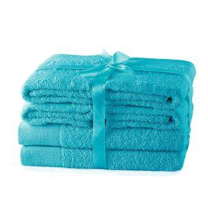 Amelia Home Set ručníků AmeliaHome Amary tyrkysové