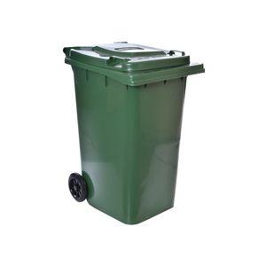 TZB Popelnice na odpad 240L - zelená