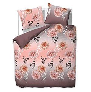 Povlečení z bavlny DecoKing Gerba růžovo-hnědé