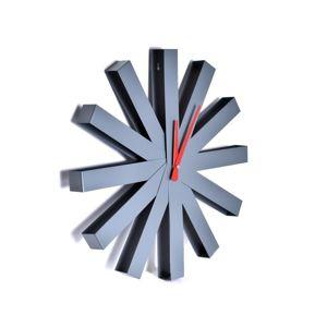 TZB Stylové nástěnné hodiny  Norweski Styl Trevlig - 50 cm stříbrné