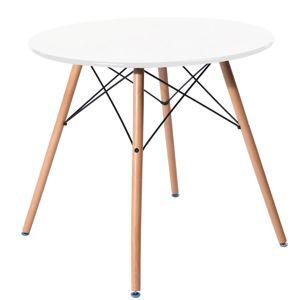 Tutumi Jídelní stůl 60 cm bílý