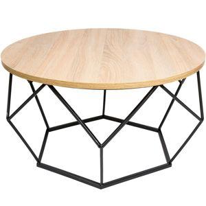 DekorStyle Konferenční stůl Gangert světlý dub