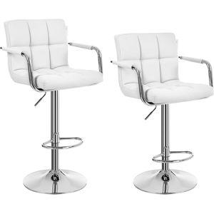 Rongomic Barová stolička Mexima bílá - 2 kusy