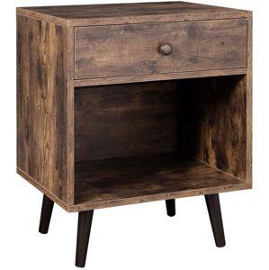 Rongomic Noční stolek VASAGLE Lexi hnědý