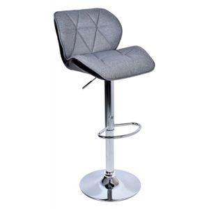 TZB Barová židle Hoker Rossi  šedo-černý