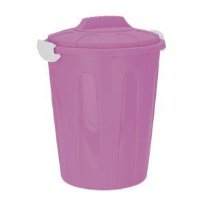 DekorStyle Odpadkový koš Jacobo 23L růžový