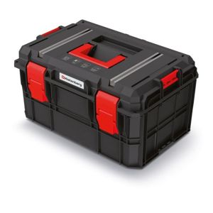 PlasticFuture Kufr na nářadí X-BLOCK TECH 54,6x38x30,7 cm černo-červený