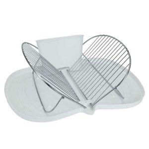 DekorStyle Odkapávač na nádobí 48cm bílý