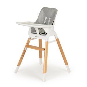 Dětská židlička EcoToys Neryx šedá