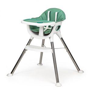 Dětská jídelní židlička Inge EcoToys zelená