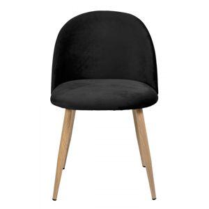 TZB Židle JAZZ VELVET černá